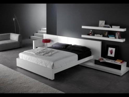 Juego de dormitorio minimalista moderno    8.000,00 en mercado libre