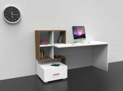 Escritorio cajon biblioteca organizador moderno for Muebles de oficina jm romo