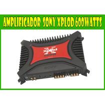 Amplificador 600 Watts Sony Xplod Xm-2100gtx