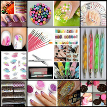 Pinceles Liner Foil Dotting Tatto Stamping...