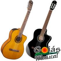 Violão Takamine Gc1 Ce Nylon Elétrico Afinador Goias Musical