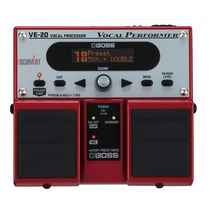 Processador De Efeitos Vocal Boss Ve20 Na Cheiro De Música