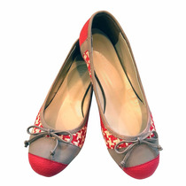 Ballerinas Moño Nuevo Modelo Zapatos Mujer Chatitas Chatas