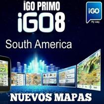 Mapas Igo8 Primo Argentina Brazil Chile Uruguay Paraguay