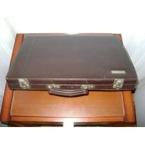 Backgammon Deluxe Maletin Cuero Valija Faltantes - No Envío