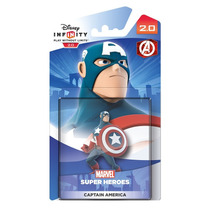Boneco Disney Infinity 2.0 Single Figure Capitão América