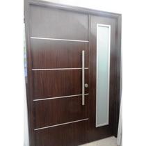 Puerta Y Media Residencial Oblak Eterna Wengue 1183w Premium