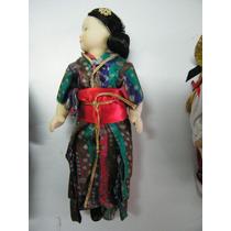 Colección Muñecas Del Mundo De Porcelana Rba 39