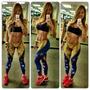 Leggins Tricolor De Venezuela Sasha Fitness