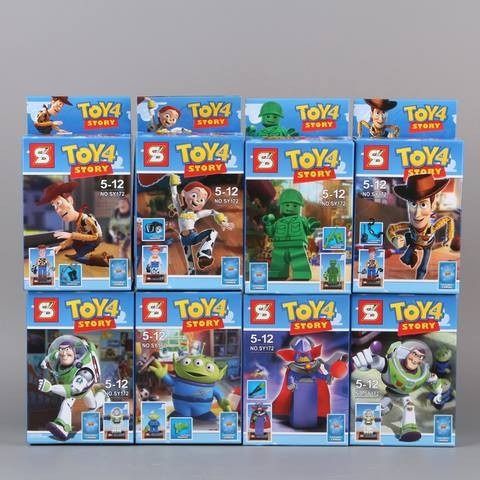 Coleccion Completa Toy Story Bloques Sy X 8 La Mejor!!!!!! -   799 ... 6950bab15f1