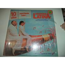 Lp Dimension Latina 10 Años Repartiendo Salsa
