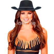 10 Sombrero Vaqueros Plastico Disfraz Rodeo Batucada Fiesta