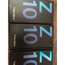 Caja Z10 Blackberry C/ Manuales 100 % Original Z10