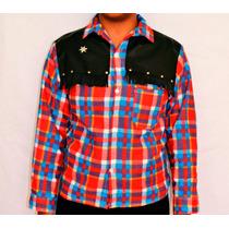 Camisa Xadrez De Flanela Country Infantil