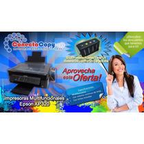 Impresoras Epson Xp320 Con Sistema Continuo De Tinta