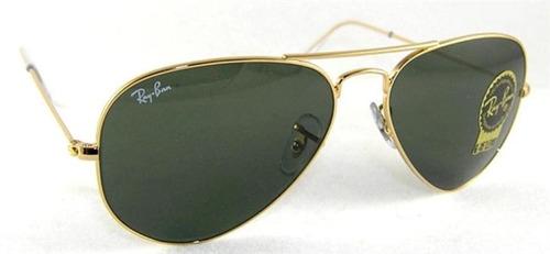 329e939fe51b1 Lentes Gafas De Sol Ray Ban Aviador Aviator Rb3025 Clasico -   1