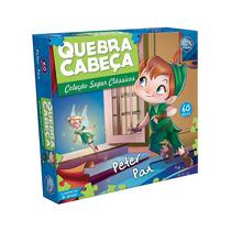 Quebra - Cabeça Peter Pan 60 Peças