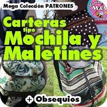Patrones Moldes Bolsos Tipo Morral Mochila Maletín Bandolero