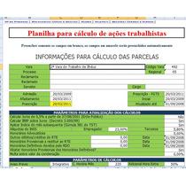 Calculo Ação Trabalhista Com Laudo De Perito Contador