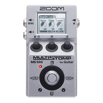Pedal Pedaleira Zoom Multistomp Ms-50g
