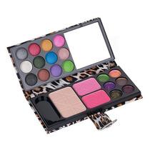 Promoção Estojo Maquiagem Profissional Sombra Blush