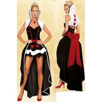 Disfraz Mujer Reina De Corazones,conejita,pirata,frutillita!