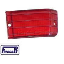 Lente De Pisca Seta Vermelha Da Lanterna Traseira Fiat 147