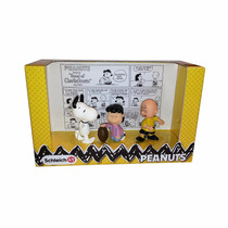 Peanuts Desenho Snoopy 3 Pack - Charlie Brown Lucy Snoopy
