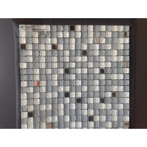 Mosaico Terra Grau Castel Baño Cocina Decorados Malla