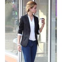 365 Blazers Elegante Saco Estilo Casual Juvenil Moda Asia