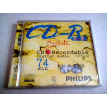 Cd-r Philips 74min. Audio For Consumer P/ Gravadores De Mesa