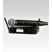 Shure Glxd24 Sistema Inalambrico Vocal Beta 58