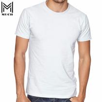Camiseta 100% Poliéster Lisa Para Sublimação Atacado