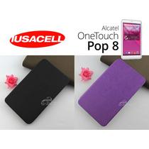 Alcatel One Touch Pop 8 Funda Tipo Cartera Ejecutiva