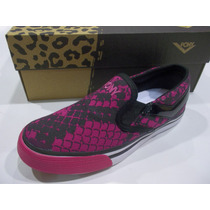 Zapatillas Panchitas Pony Luncheras Mujer