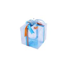12 Cajas De Acetato 9x9x9 Cm Para Recuerdos,dulces,galletas