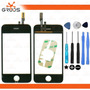 Tela Vidro Touch Iphone 3gs + Adesivo 3m + Kit Ferramentas