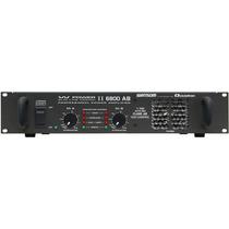 Frete Grátis Ciclotron W Power 6800 Ab Potência Amplificador