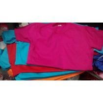 Remeras Lisas De Algodón Colores X Mayor 29$