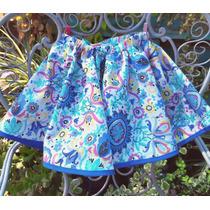 Pollera De Diseño Nena Princesa Ropa No Carters Mimo Cheeky
