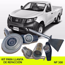 Promoción!!! Kit Seguridad Llanta De Refacción Nissan Np 300