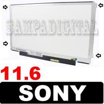 Tela 11.6 Led Slim Para Sony Vaio Vpc-yb45jb Pcg-31311l Nova