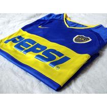 Camiseta Boca Juniors Titular Nike Dri Fit 2003 Pepsi Nueva