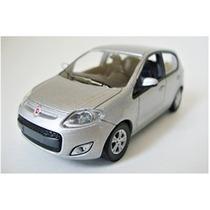 Miniatura De Fiat Novo Palio Prata 1:43 Norev 420083
