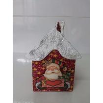 Porta Mini Panetone Em Mdf - Lembrancinha De Natal