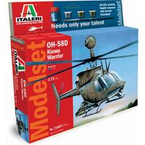 Avion Italeri Helicoptero Oh-58d Kiowa 1/72 Armar C/ Todo !