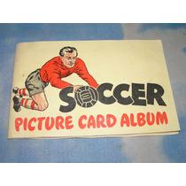 Antigo Álbum De Figurinhas Futebol Inglês - Chiclete 1956