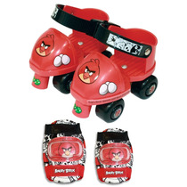 Tb Patines Angry Birds Toy Skate And Roller Skate Combo