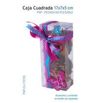 12 Cajas De Acetato Para Galletas,chocolate,dulces,recuerdos