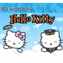Kit Imprimible Hello Kitty Marcos Tarjetas Invitaciones Co